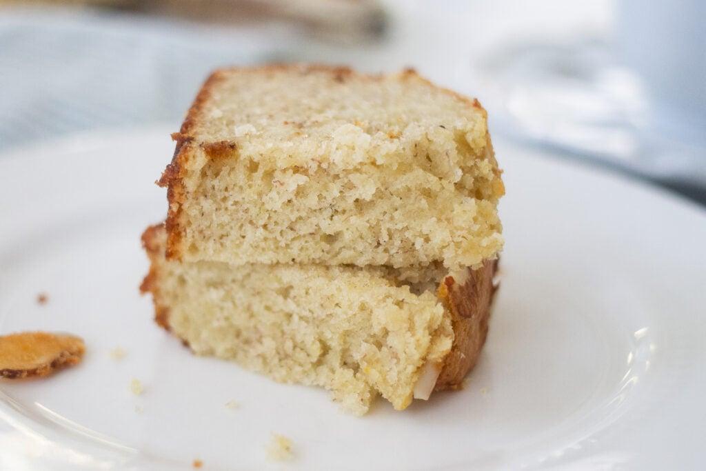 Banana bread recipe with sour cream.