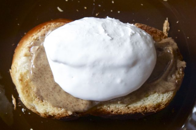 And you bet your brioche – topping it with fluff. If the bread is ...