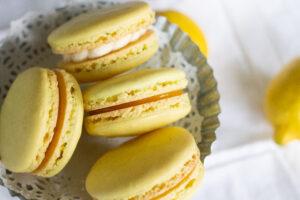 Lemon macarons recipe by Edible Times