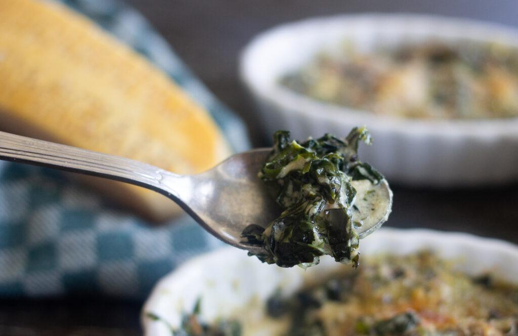 Lacinato kale recipe from Edible Times