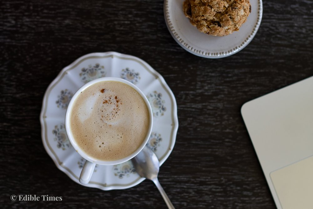 How to make espresso at home with the chef+mom at Edible Times.