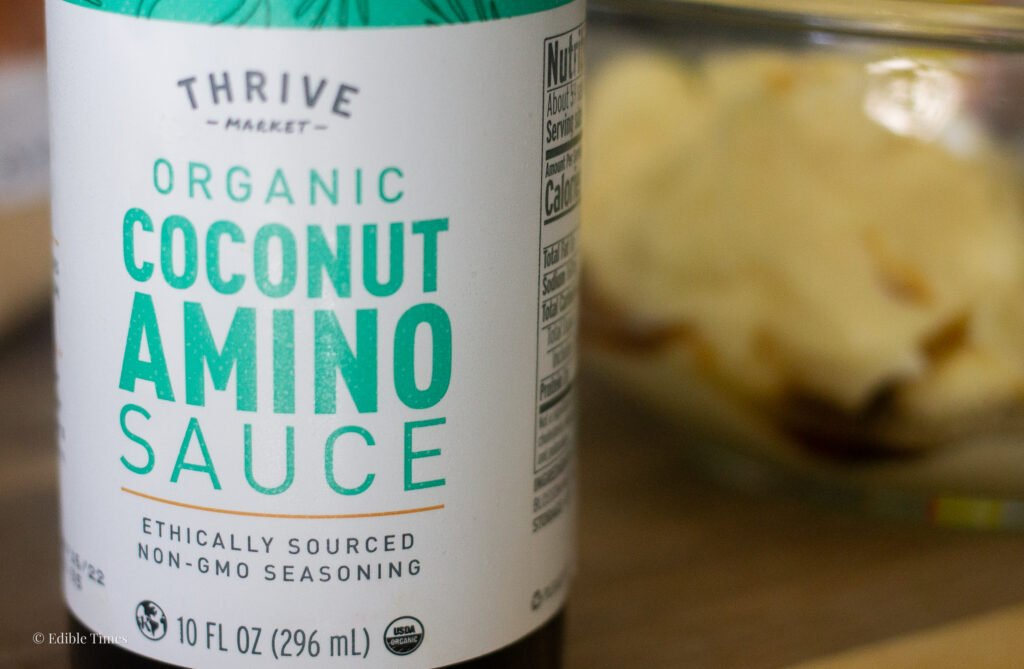 Coconut aminos: Worcestershire sauce substitute on Edible Times