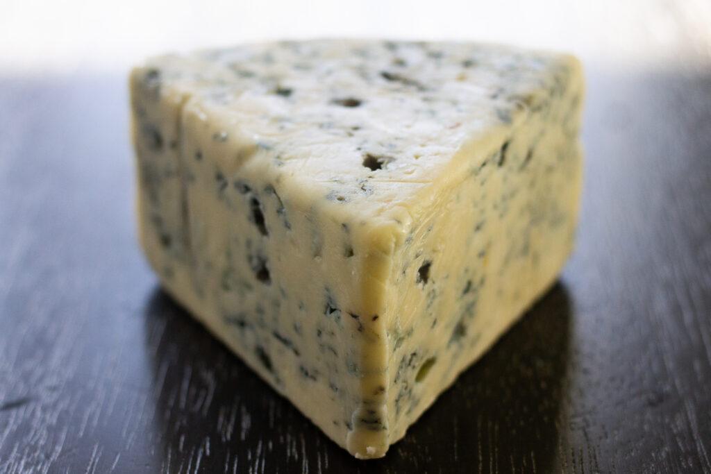 Blue cheese wedge.