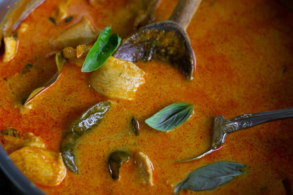 Thai curry recipe from Edible Times