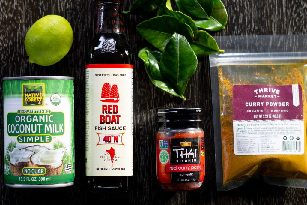 Chicken curry recipe ingredients from Edible Times