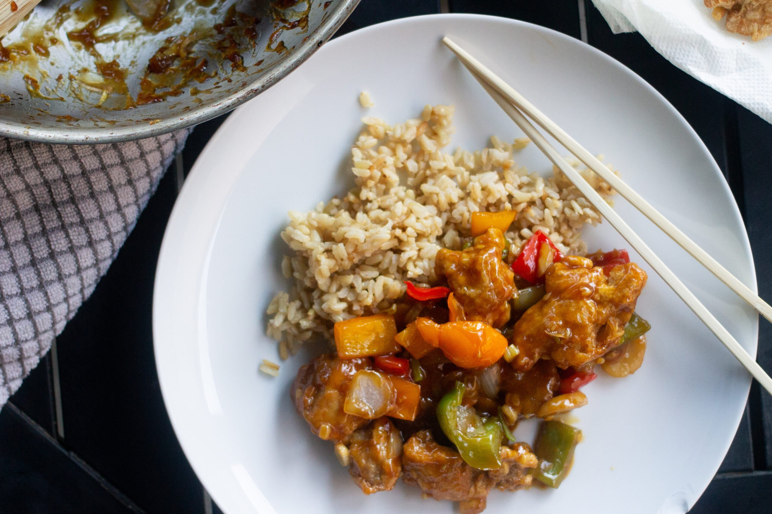 Chinese Orange Chicken recipe from Edible Times
