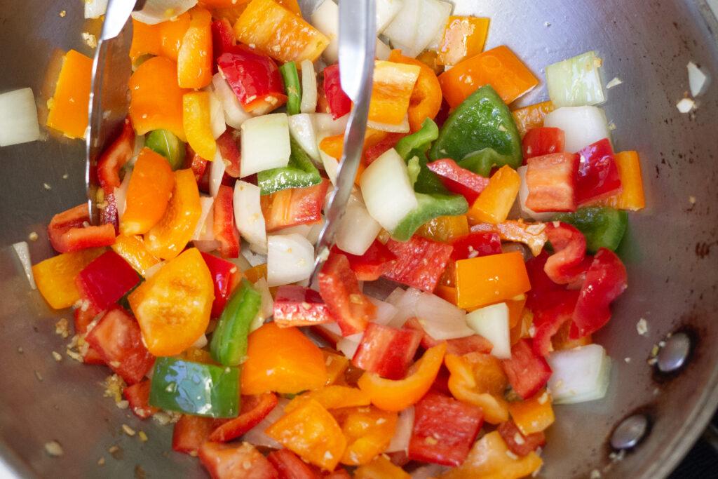 Stir-fry orange chicken recipe