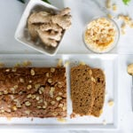 Gingerbread loaf that is low in sugar, and can be gluten free