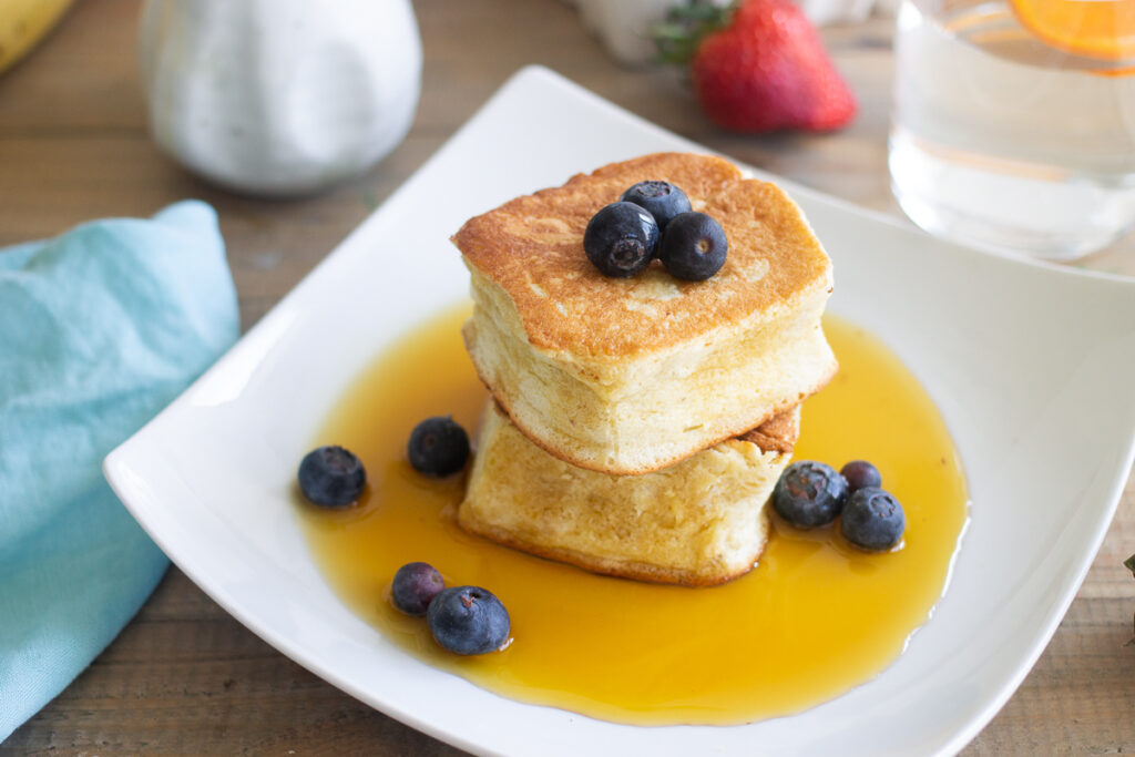 grain-free Japanese souffle pancake