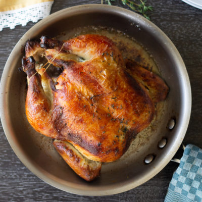 How to make Chef Thomas Keller's roast chicken (like the chefs at Bouchon Bistro)